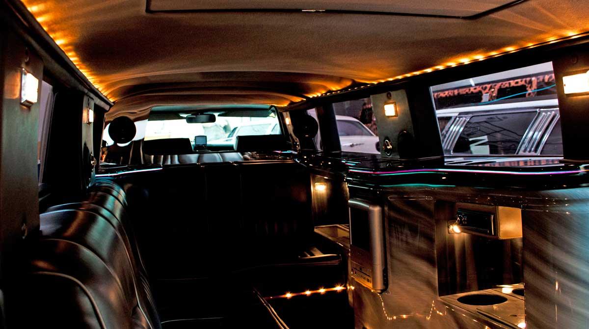Interiores de limusinas de lujo - Interiores de lujo ...